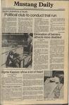 Mustang Daily, November 19, 1980