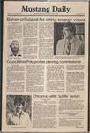 Mustang Daily, November 20, 1980