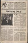 Mustang Daily, November 25, 1980