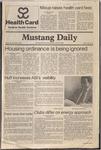 Mustang Daily, December 3, 1980