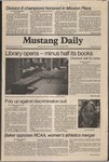 Mustang Daily, January 7, 1981