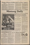 Mustang Daily, January 8, 1981