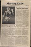 Mustang Daily, January 13, 1981