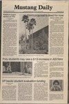 Mustang Daily, January 14, 1981