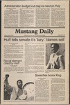 Mustang Daily, January 16, 1981