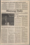 Mustang Daily, January 20, 1981