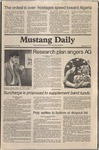 Mustang Daily, January 21, 1981