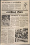 Mustang Daily, January 22, 1981