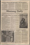 Mustang Daily, January 27, 1981