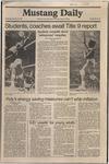 Mustang Daily, January 28, 1981