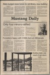 Mustang Daily, January 30, 1981