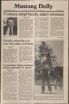 Mustang Daily, February 4, 1981