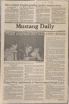 Mustang Daily, March 3, 1981