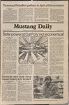 Mustang Daily, March 5, 1981