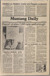 Mustang Daily, March 6, 1981