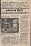 Mustang Daily, March 11, 1981