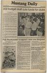 Mustang Daily, April 3, 1981
