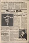 Mustang Daily, April 7, 1981